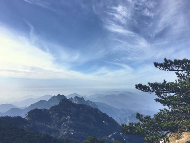 春节#风景如画,一览众山小【黄山】