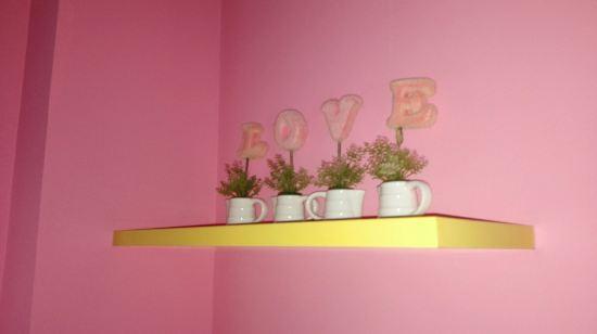 粉色海岸风景高清壁纸