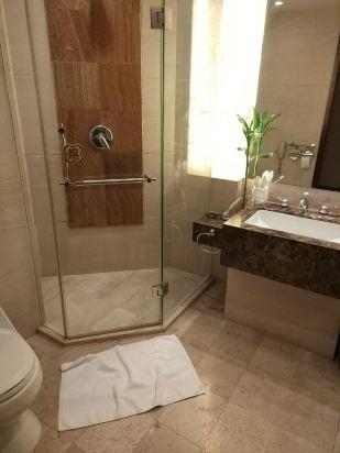 宾馆洗澡间设计图片