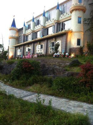 峨眉山七里坪别墅乡村酒店主题童话对窗造型世界马路温泉图片