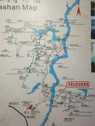 丹霞山壹加壹饭店地址,丹霞山壹加壹饭店周边交通地图