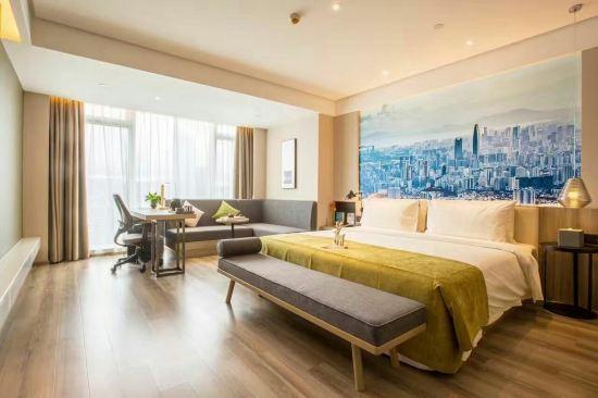 深圳滨河时代亚朵酒店预订价格,联系电话\位置
