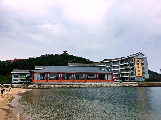 威海荣成好运角羡霞湾酒店 民宿性质 条件一般 没有电梯 但海景房
