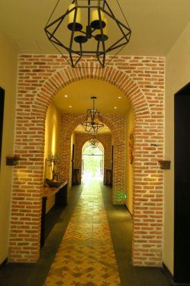 欧式古堡室内秘密小花园