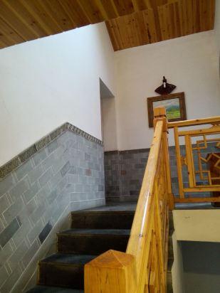 古欧式宫廷楼梯背景