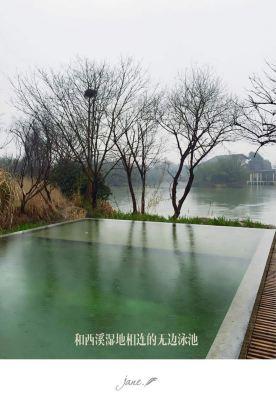 杭州风景海报手绘