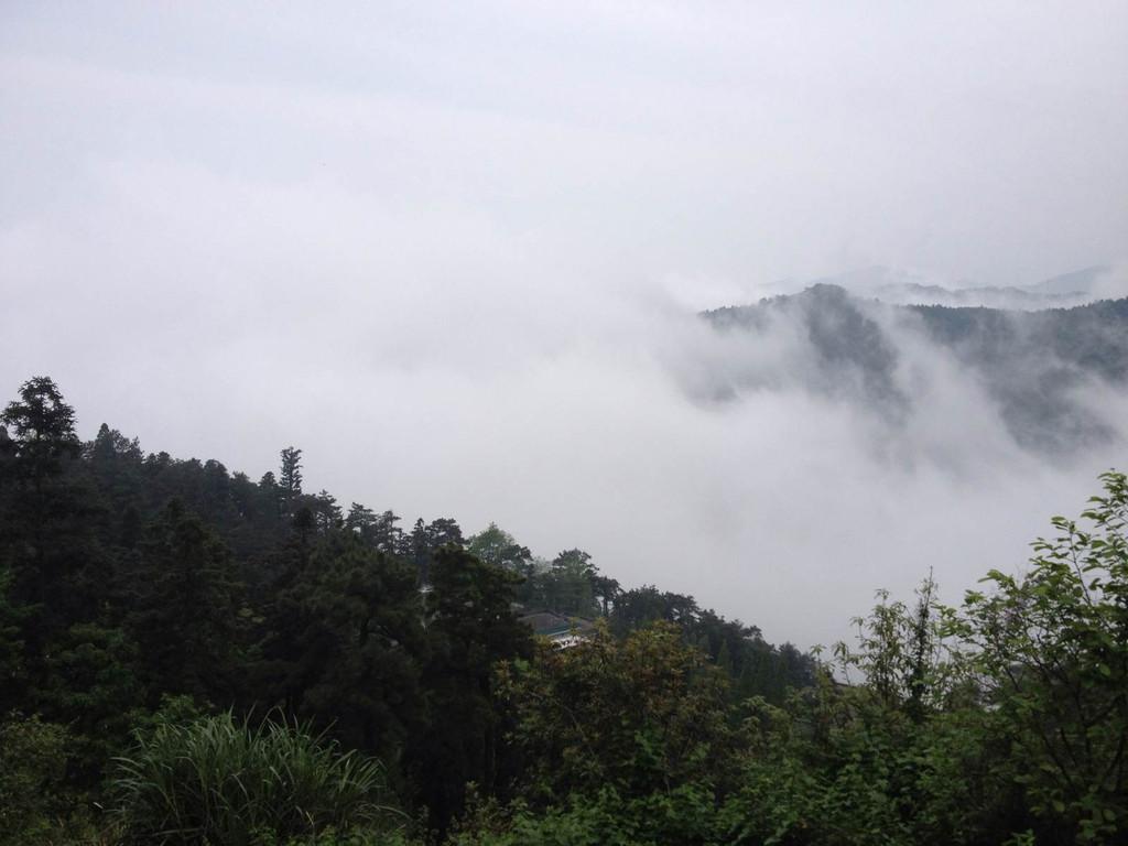 南岳山风景图片