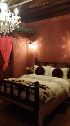 装修风格复古温馨和浪漫,床垫很舒服,被子温暖舒适,浴室很贴心