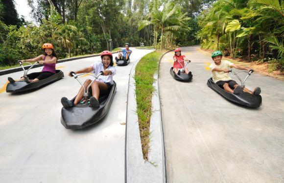 新加坡聖淘沙 Skyline Luge 斜坡滑車+空中吊椅門票