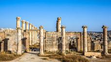 杰拉什罗马古城遗址